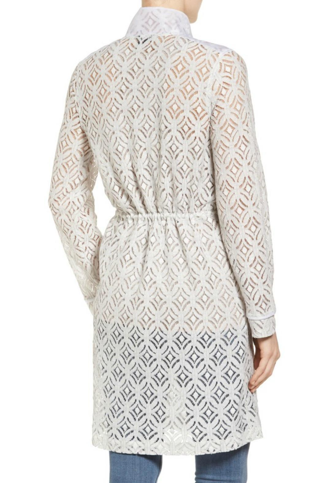 Nic + Zoe Lush Lace Trench - Front Full Image