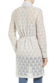 Nic + Zoe Lush Lace Trench - Front full body