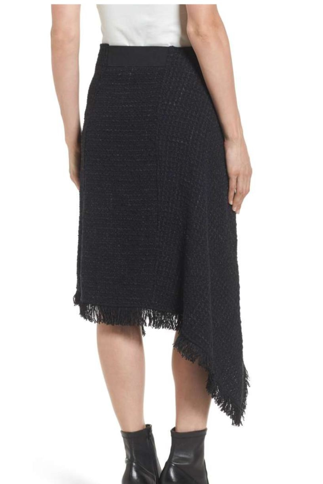 Nic + Zoe Majestic Tweed Skirt - Front Full Image