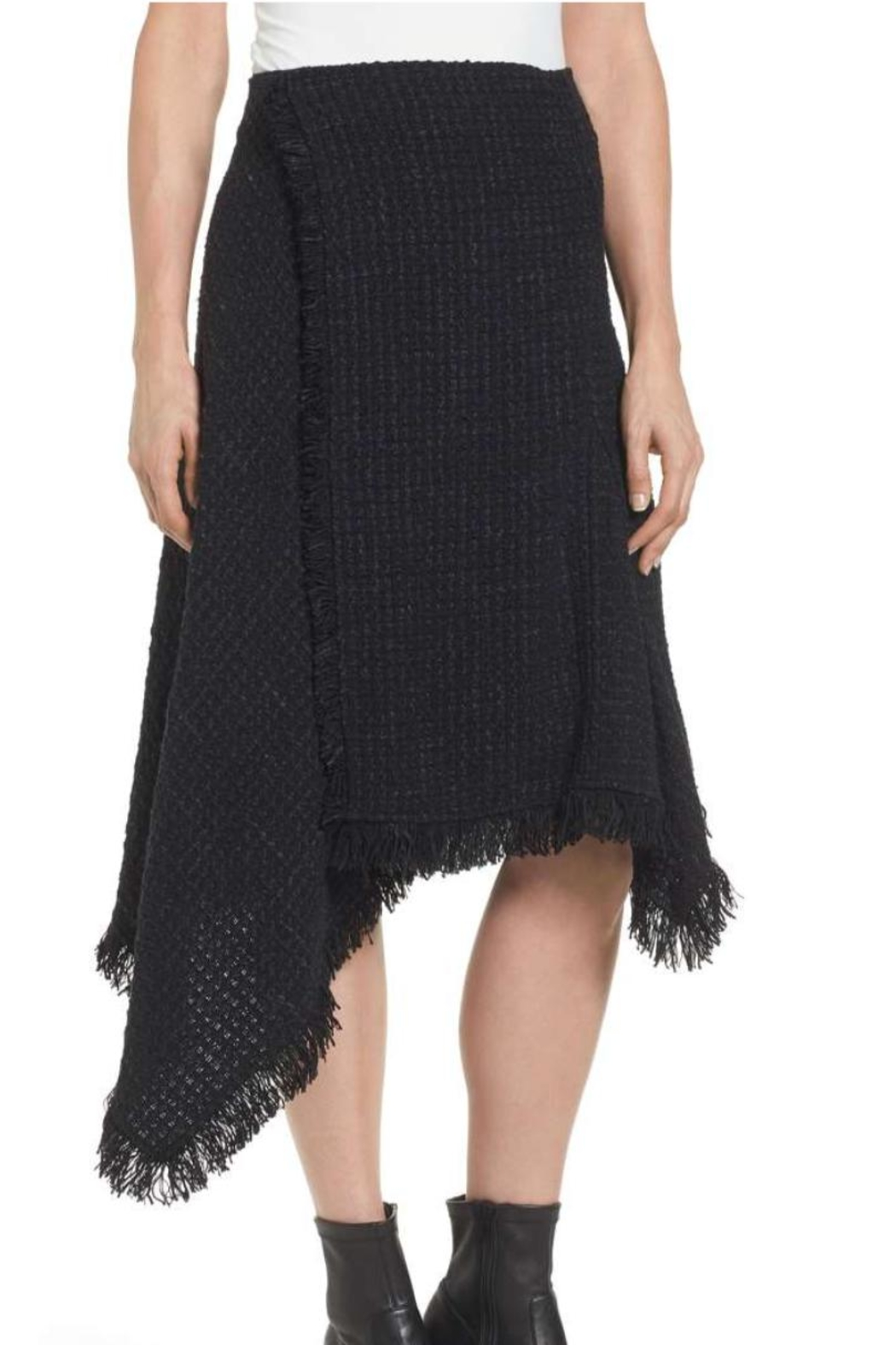 Nic + Zoe Majestic Tweed Skirt - Main Image