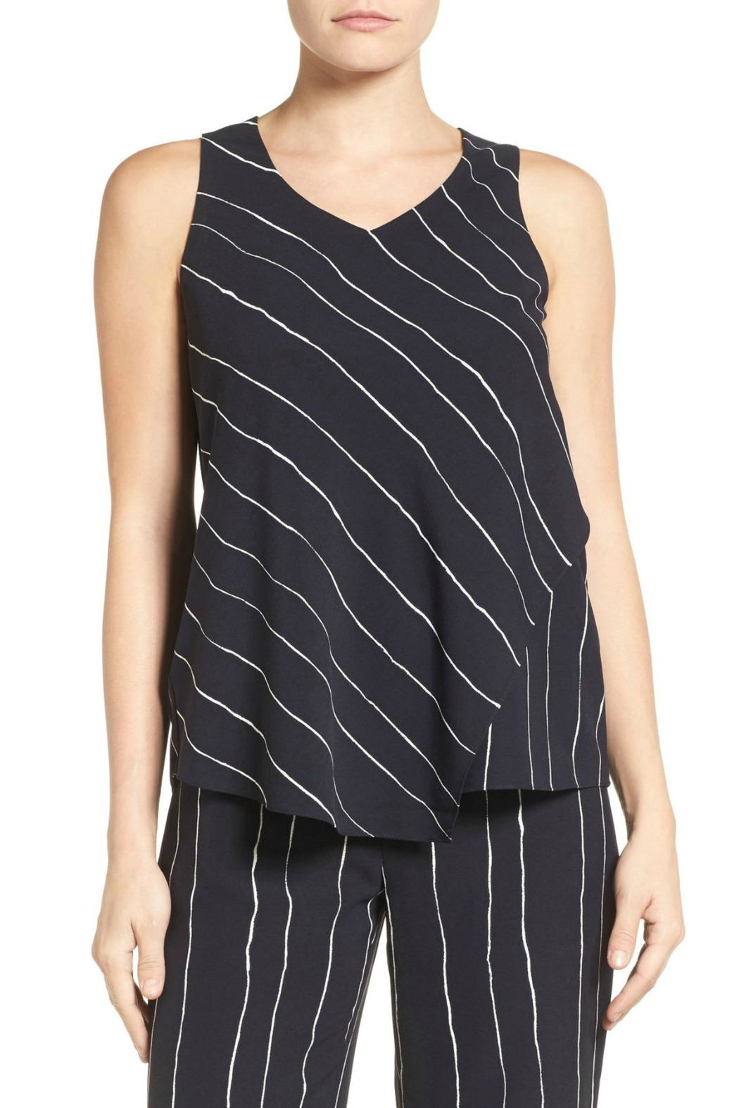 Nic + Zoe Modern Lines Tank - Front Cropped Image