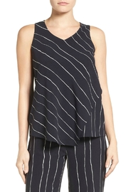Nic + Zoe Modern Lines Tank - Front cropped