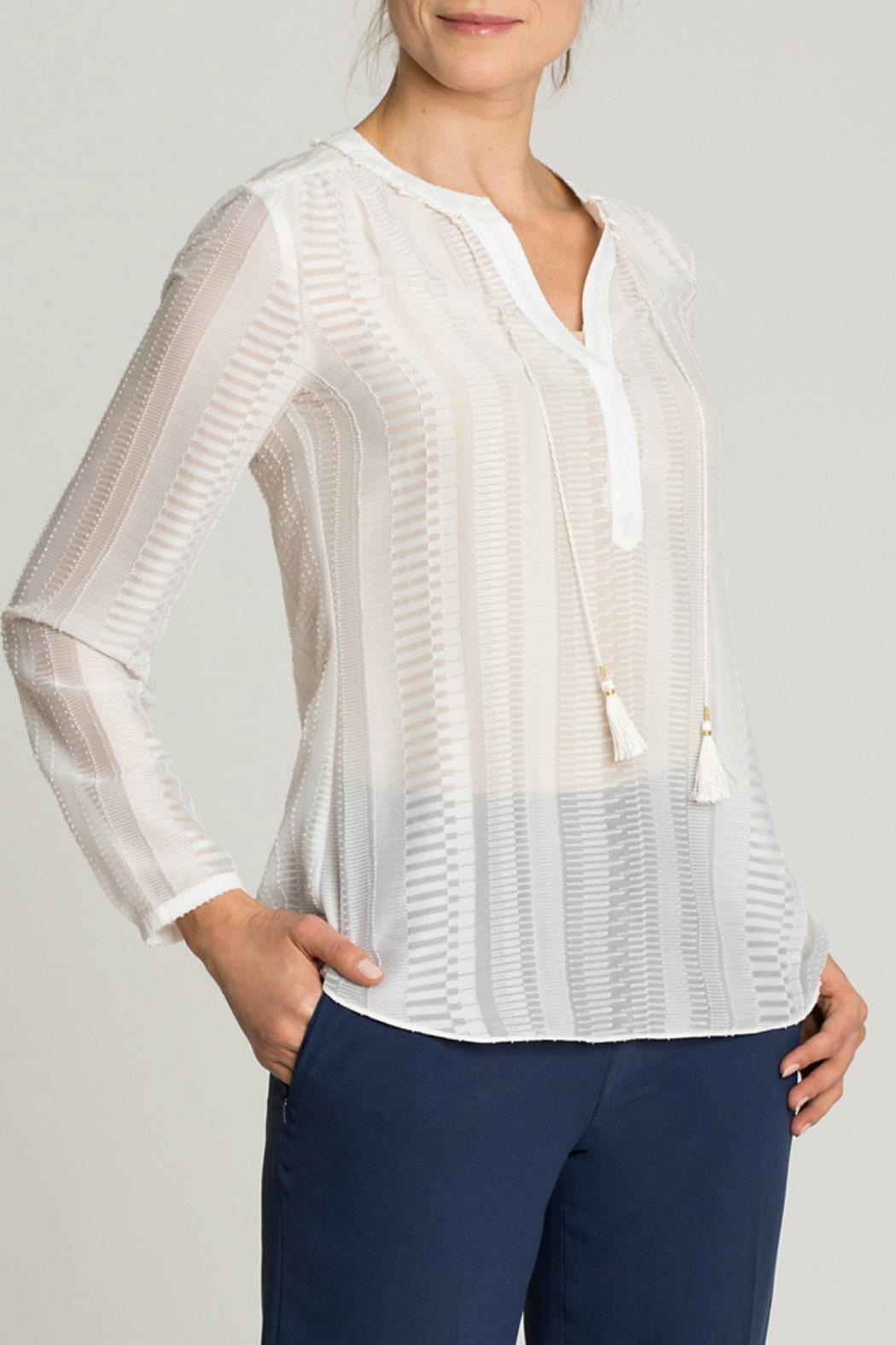 Nic + Zoe Modern Romance Top - Front Cropped Image