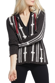 Nic + Zoe Multicolor Hooded Cardigan - Product Mini Image