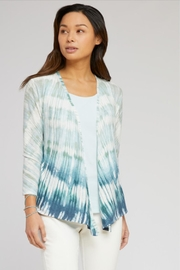 Nic + Zoe Ombre 4-Way Cardigan - Front cropped