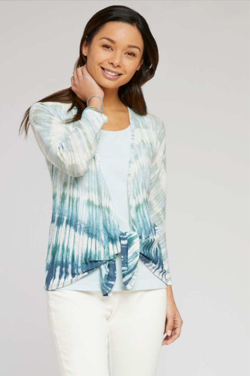Nic + Zoe Ombre 4-Way Cardigan - Front Full Image