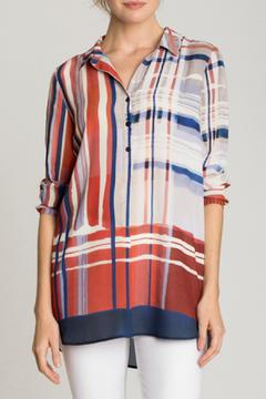 Shoptiques Product: Painted Plaid Top