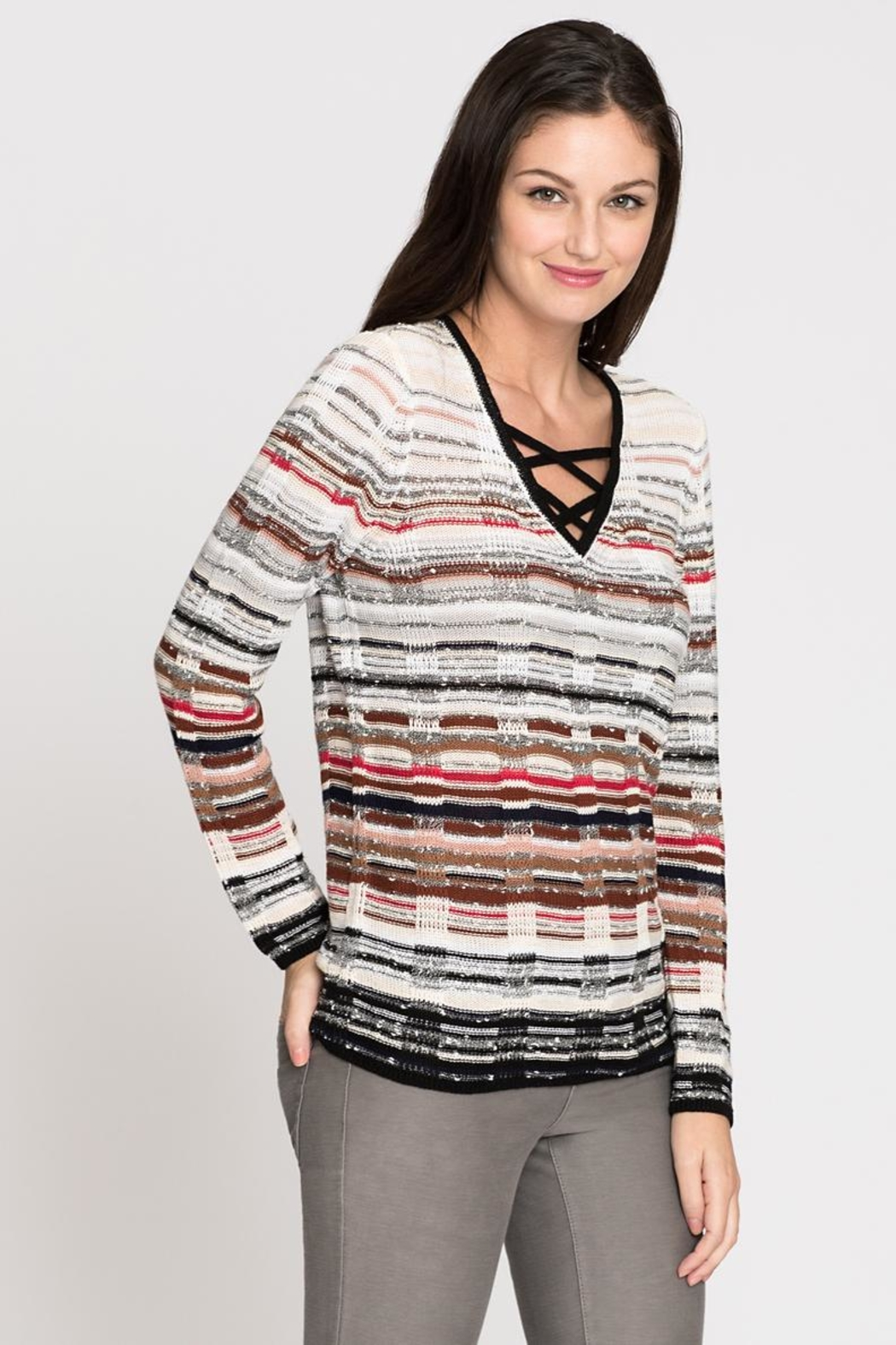 Nic + Zoe Red Hills Sweater - Main Image