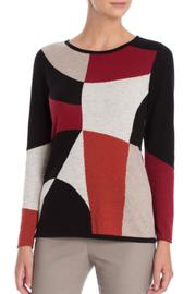 Nic + Zoe Rubied Long Sleeve Top - Product Mini Image