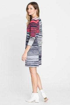 Nic + Zoe Striped Knit Dress - Product List Image