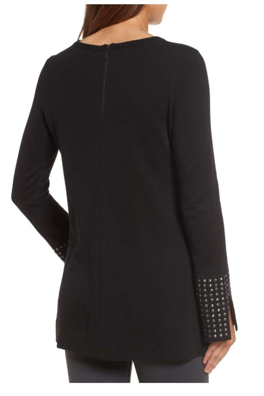 Nic + Zoe Stud Cuff Top - Front Full Image