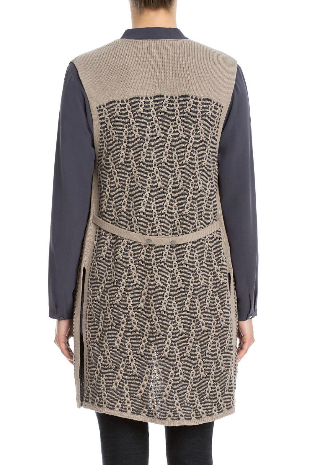 Nic + Zoe Traveling Cables Vest - Front Full Image