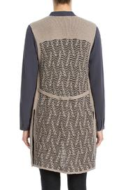 Nic + Zoe Traveling Cables Vest - Front full body