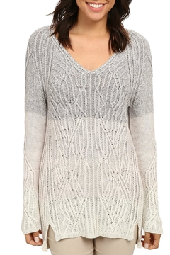 Nic + Zoe Woven Ombre Top - Product List Image