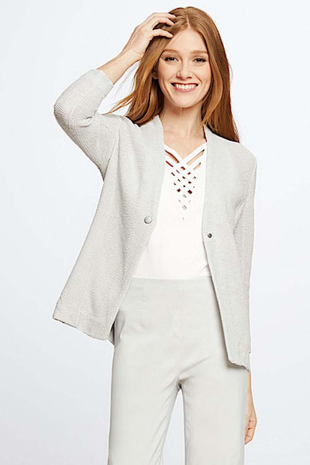 Nic + Zoe Knit  Jacket - Main Image