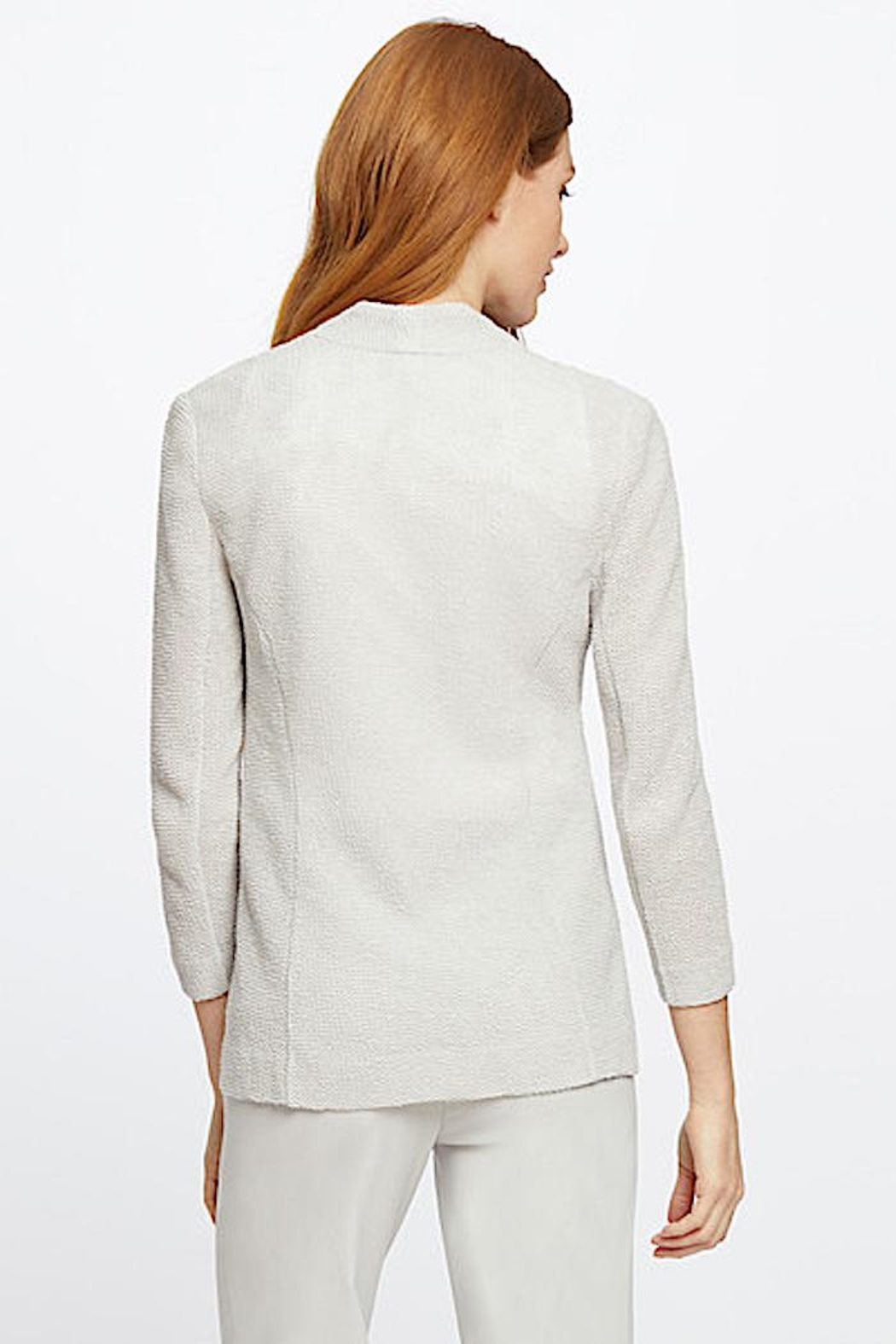 Nic + Zoe Knit  Jacket - Side Cropped Image