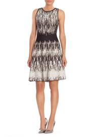 Nic and Zoe  Falling Lines Dress - Front cropped