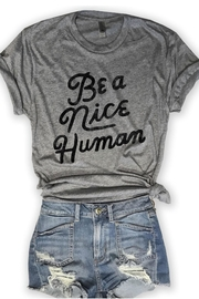 Everfitte Nice Human Tee - Product Mini Image