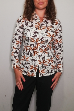Nice Things Paloma S Apes Travel Blouse - Product List Image