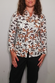 Nice Things Paloma S Apes Travel Blouse - Product Mini Image