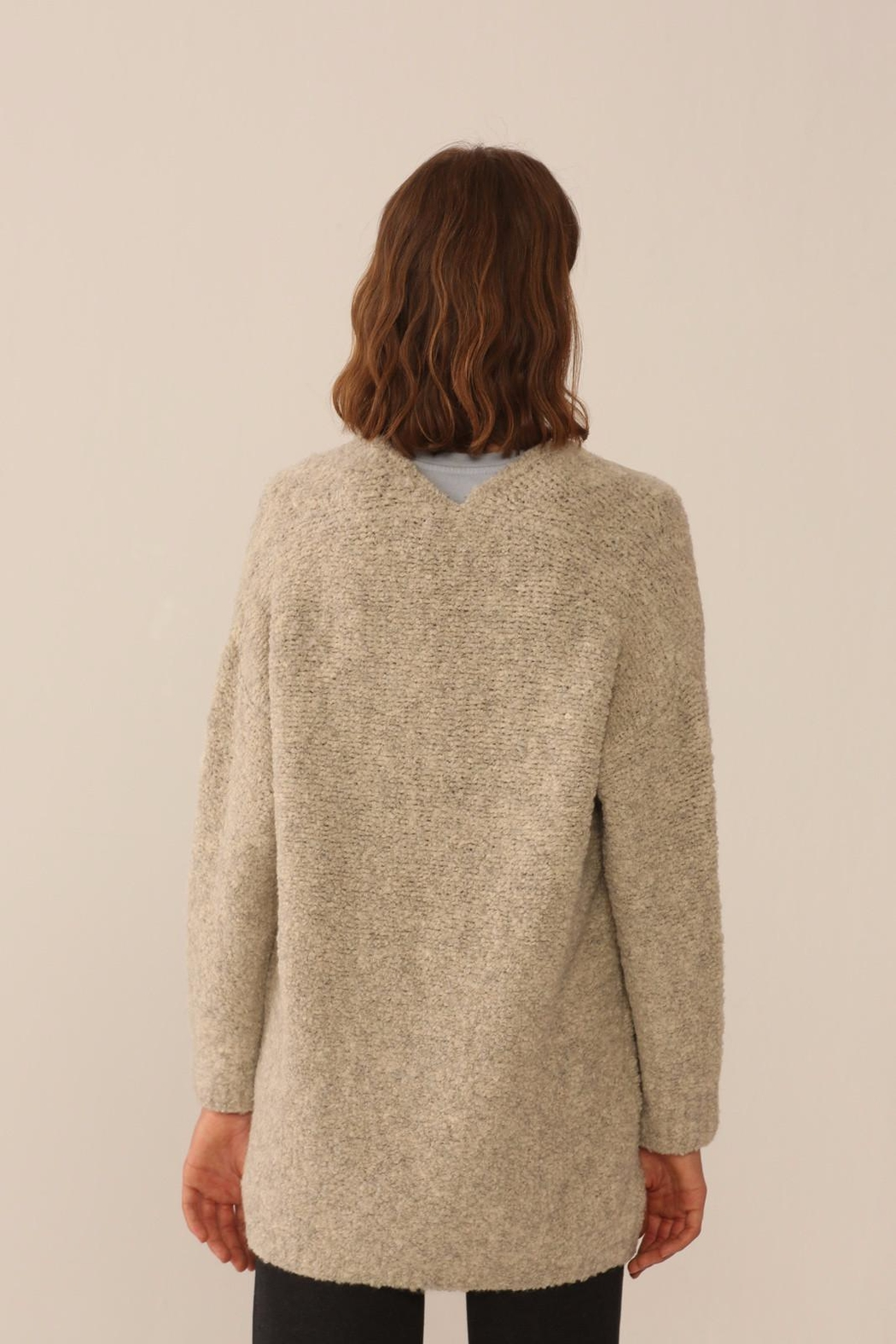 Nice Things Paloma S Cozy Open Jacket - Front Full Image