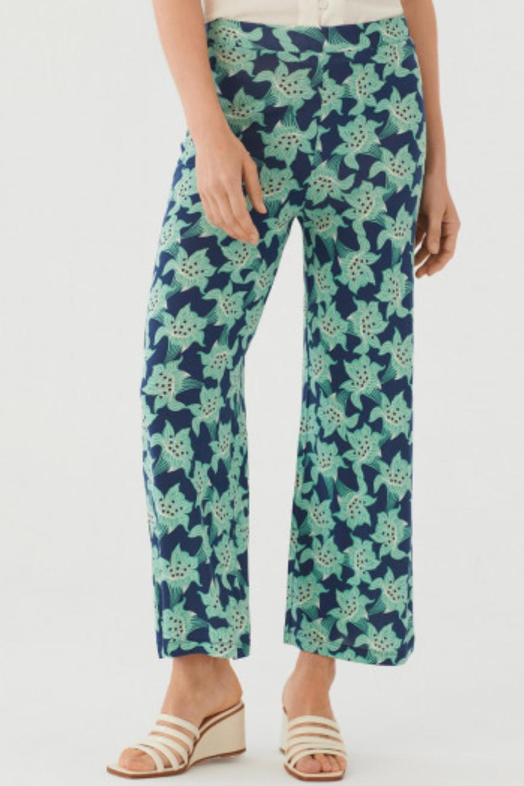 Nice Things Paloma S Floral Lilly Pant - Main Image