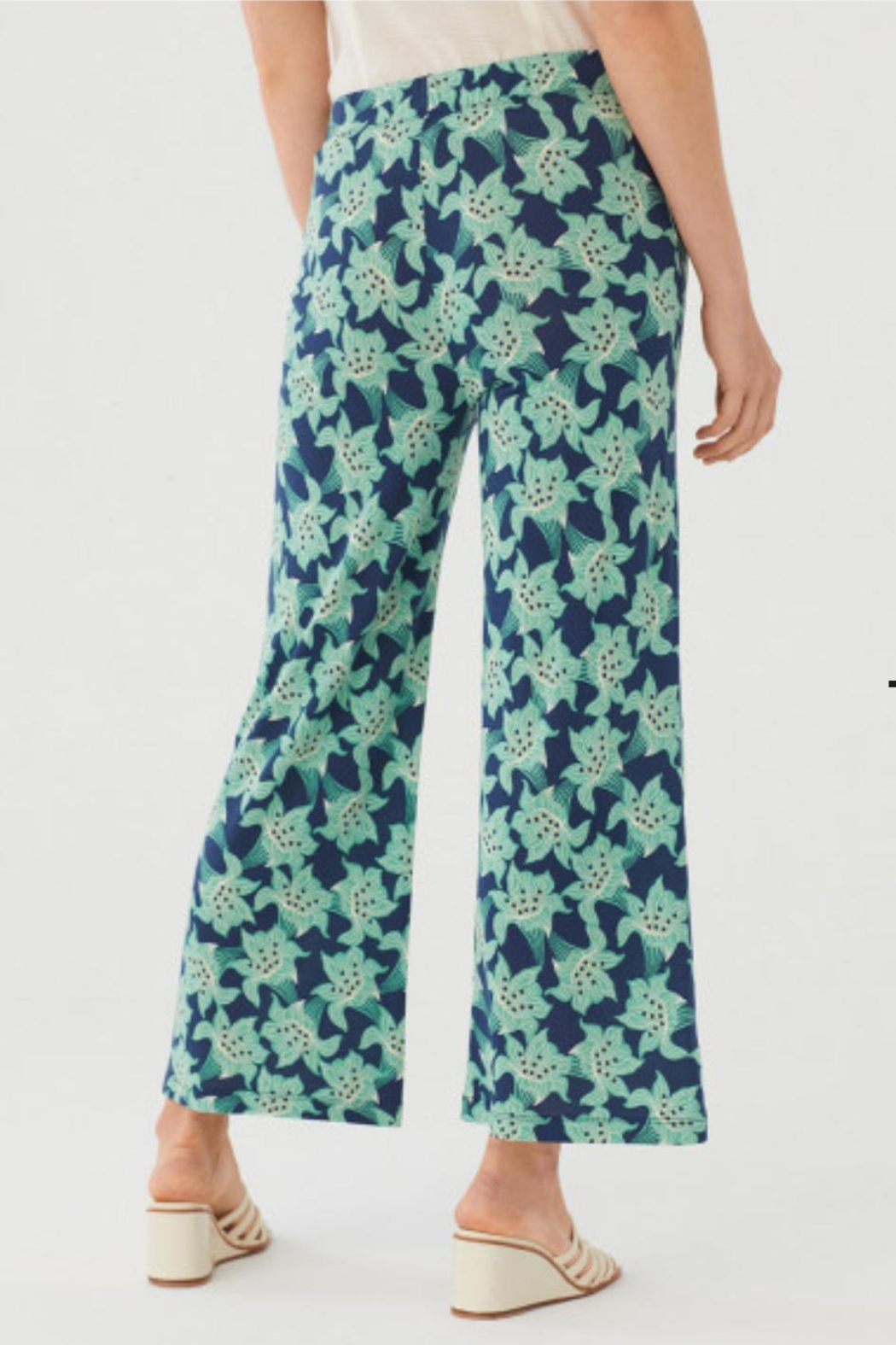 Nice Things Paloma S Floral Lilly Pant - Side Cropped Image