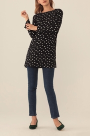 Nice Things Paloma S Lost Buttons Tunic Top - Product Mini Image