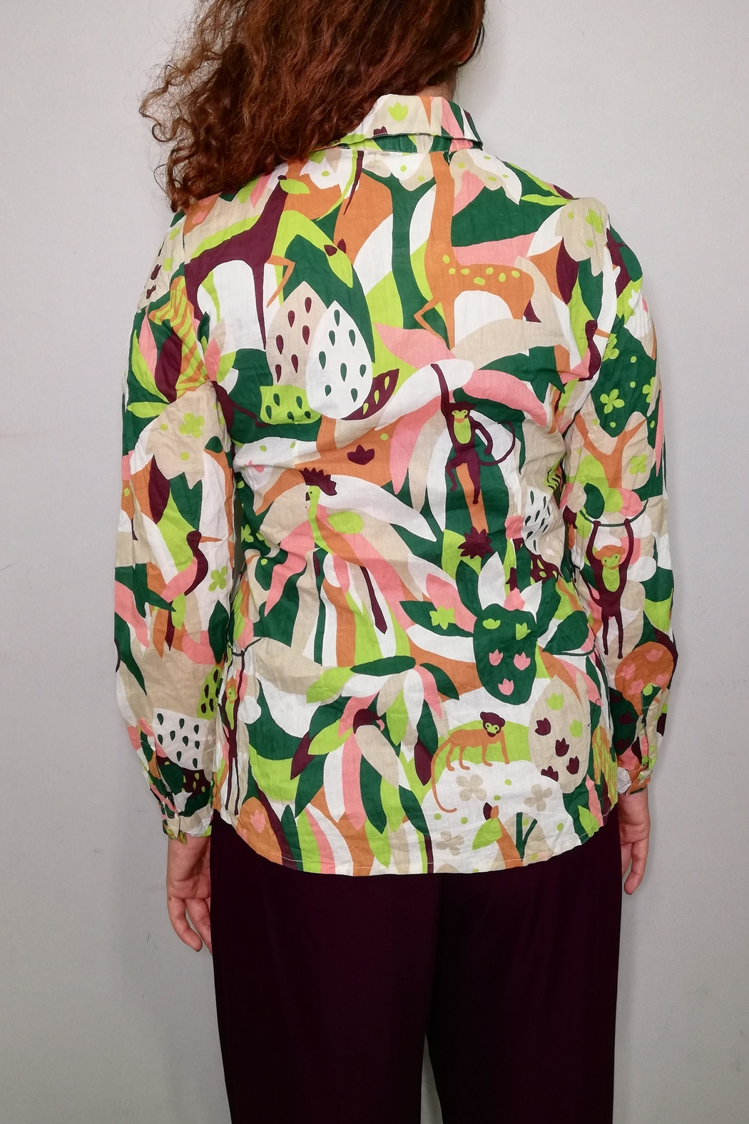 Nice Things Paloma S Lost Paradise Blouse - Side Cropped Image