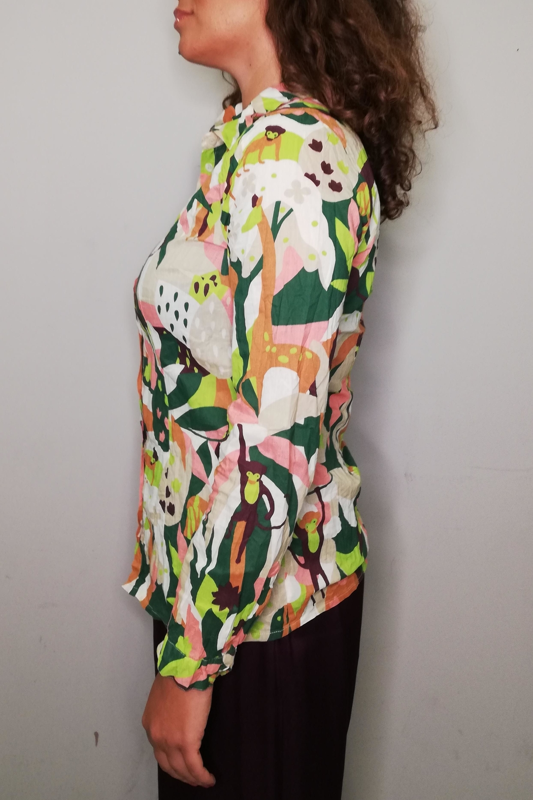 Nice Things Paloma S Lost Paradise Blouse - Front Full Image