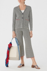 Nice Things Paloma S Minicheck Jacquard Blazer - Front cropped