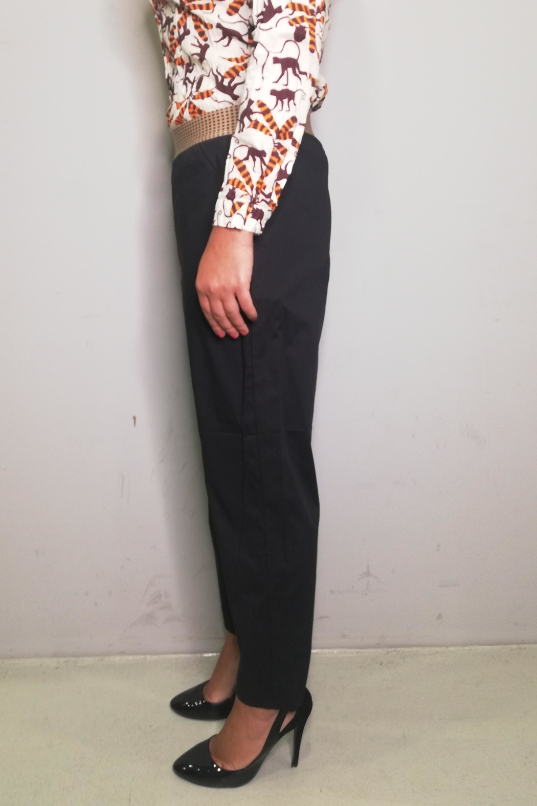Nice Things Paloma S Poplin Pant - Front Full Image