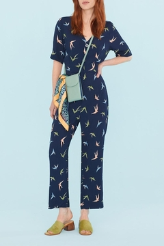 Nice Things Paloma S Swallows Jumpsuit - Product List Image