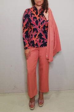 Nice Things Paloma S Travel Corals Blouse - Alternate List Image