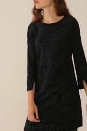 Nice Things Paloma S Velvet Jacquard Dress - Product Mini Image