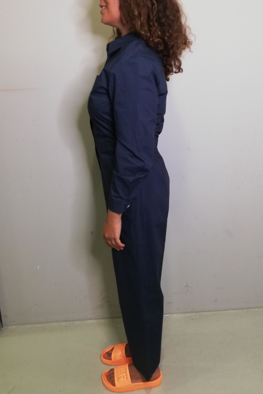 Nice Things Paloma S Workers Overall - Front Full Image