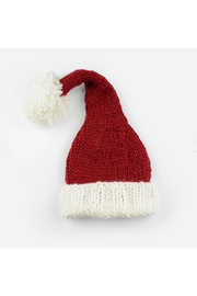 The Blueberry Hill Nicholas Santa Knit Hat - Front cropped