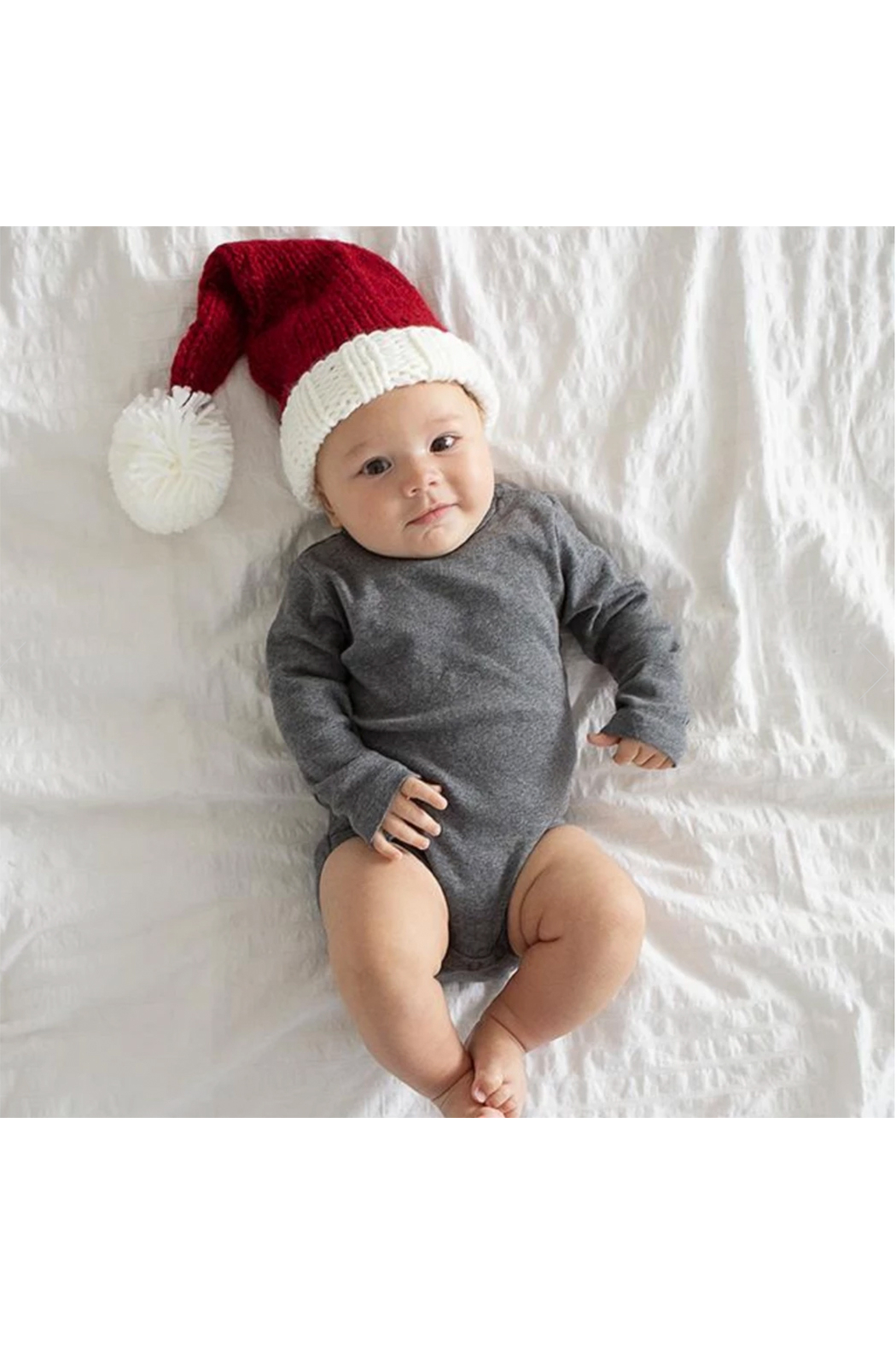 The Blueberry Hill Nicholas Santa Knit Hat - Front Full Image