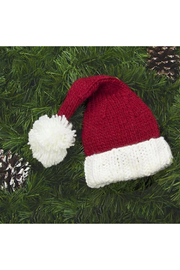 The Blueberry Hill Nicholas Santa Knit Hat - Side cropped