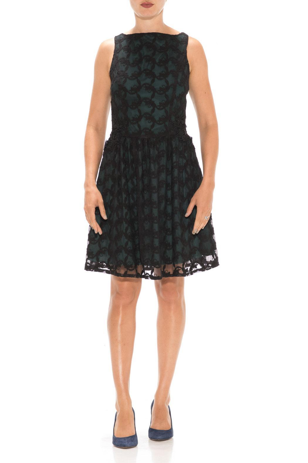 Nick & Mo Lacy Party Dress - Main Image
