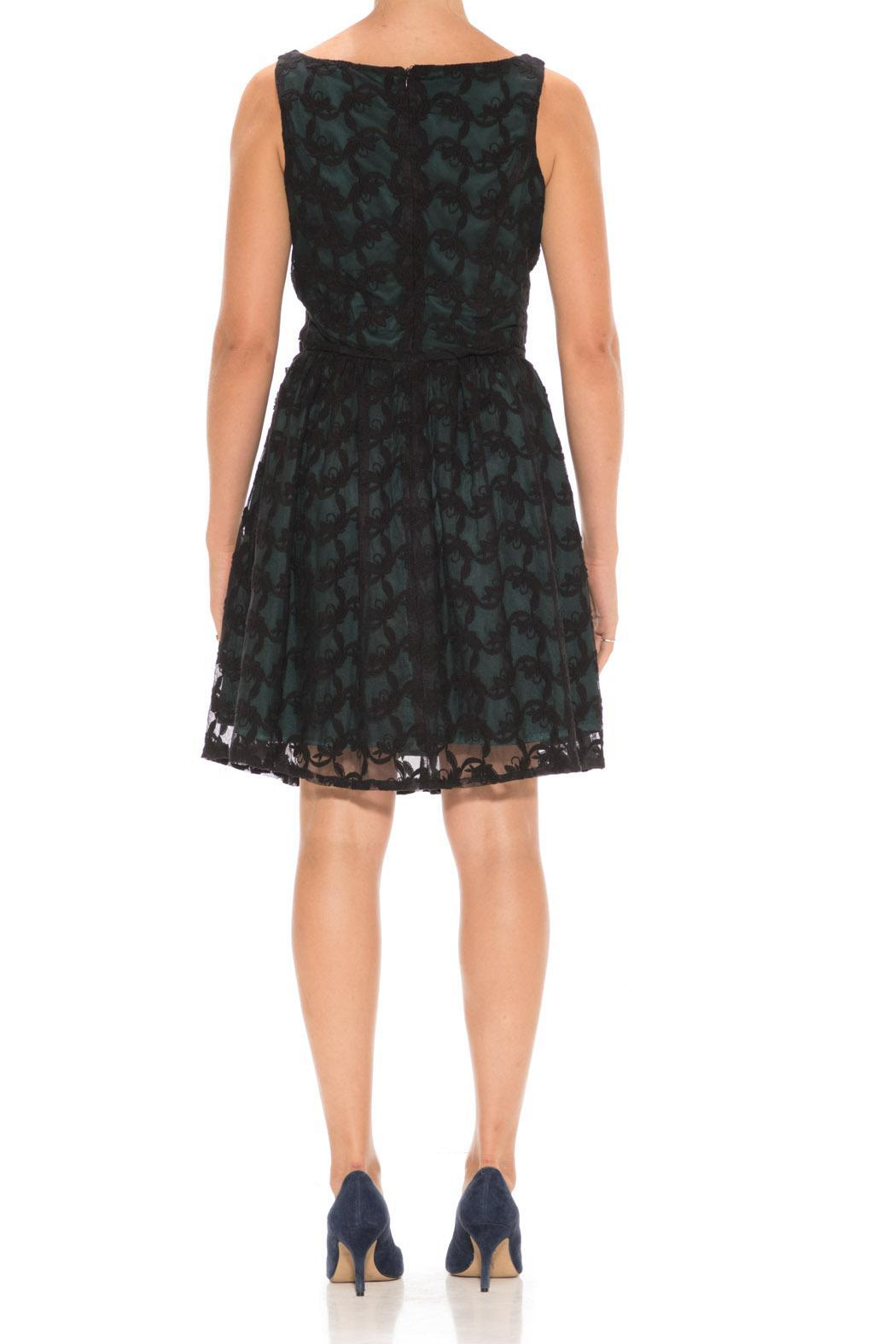 Nick & Mo Lacy Party Dress - Front Full Image