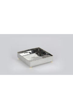 The Birds Nest NICKEL/GOLD BEAD COCKTAIL TRAY - Product List Image
