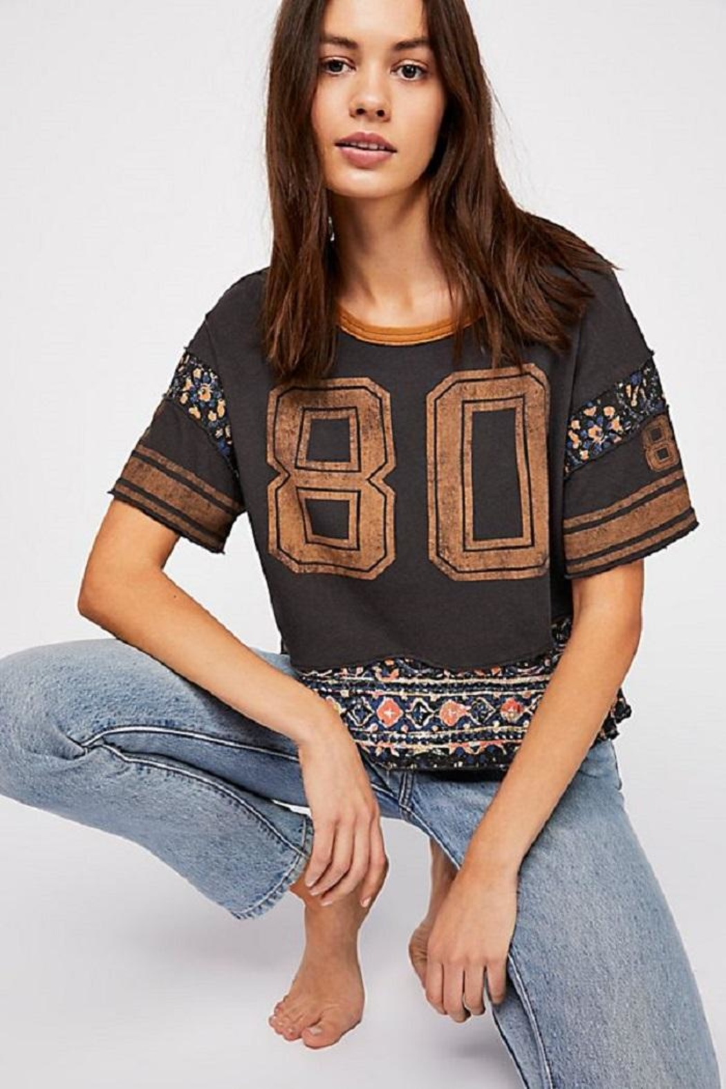 Free People Nicky Tee - Side Cropped Image