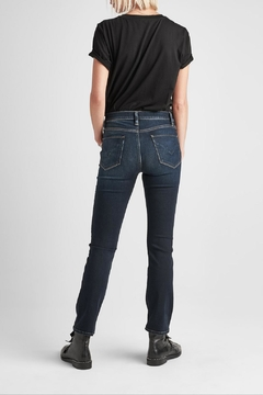 Hudson Jeans Nico Dark-Wash Cigarette - Alternate List Image
