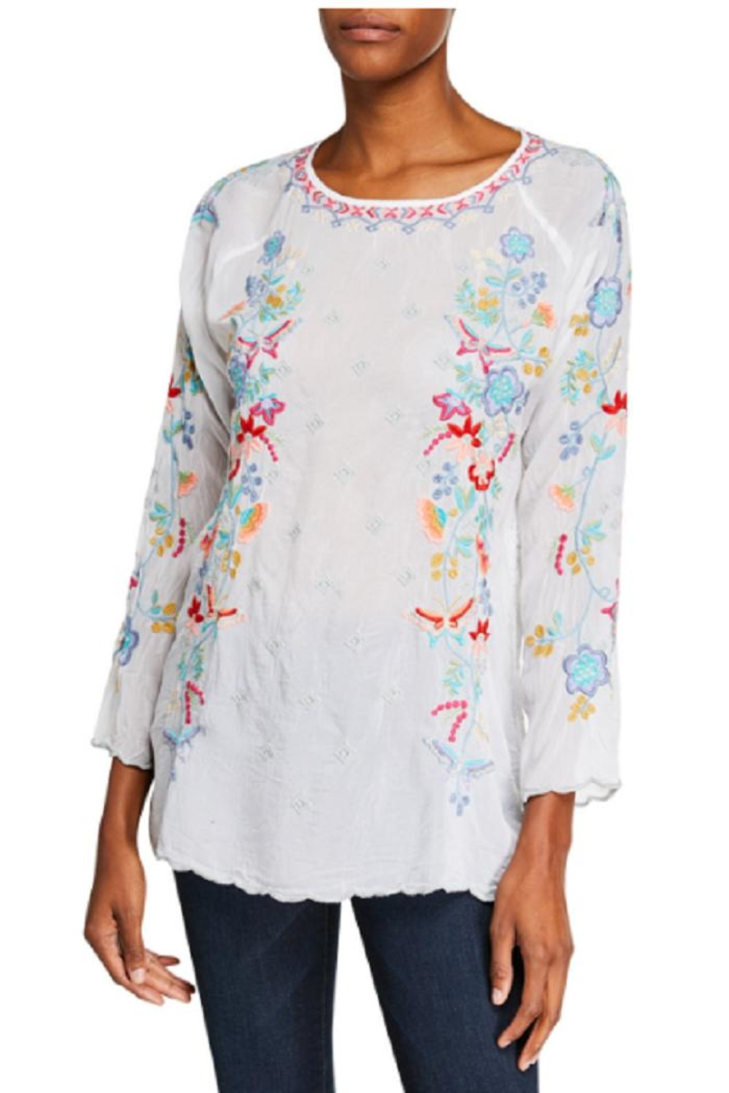 Johnny Was Nico Georgette Blouse - Main Image