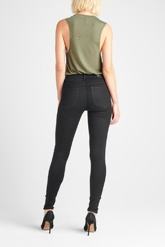 Hudson Jeans Nico Skinny Enhanced-Black - Alternate List Image