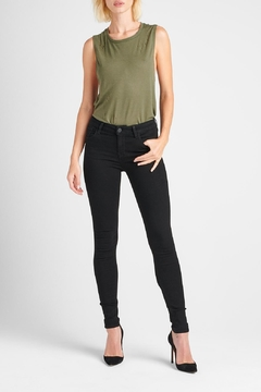 Hudson Jeans Nico Skinny Enhanced-Black - Product List Image