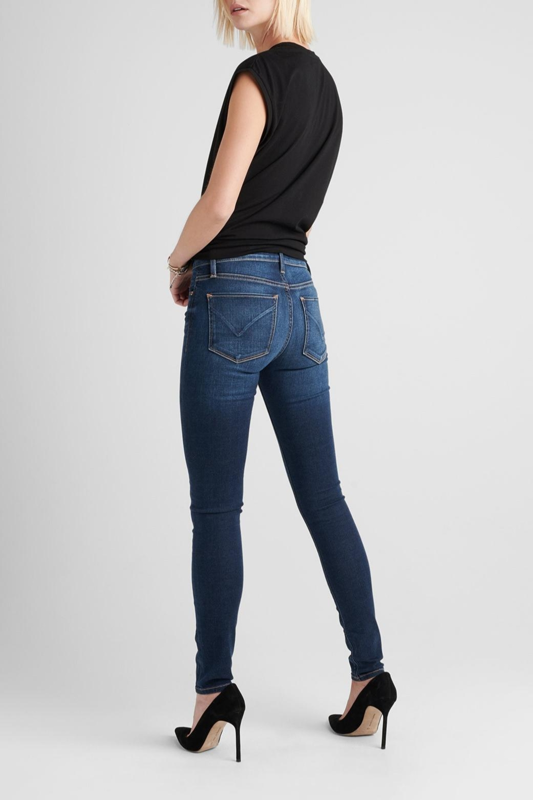 Hudson Jeans Nico Skinny Gower - Side Cropped Image