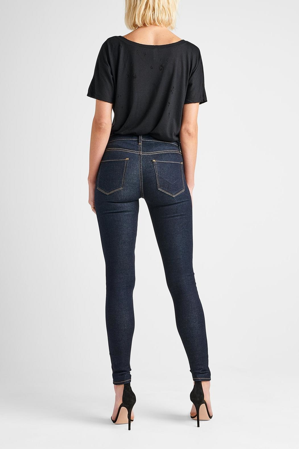 Hudson Jeans Nico Skinny Sunset-Blvd - Side Cropped Image