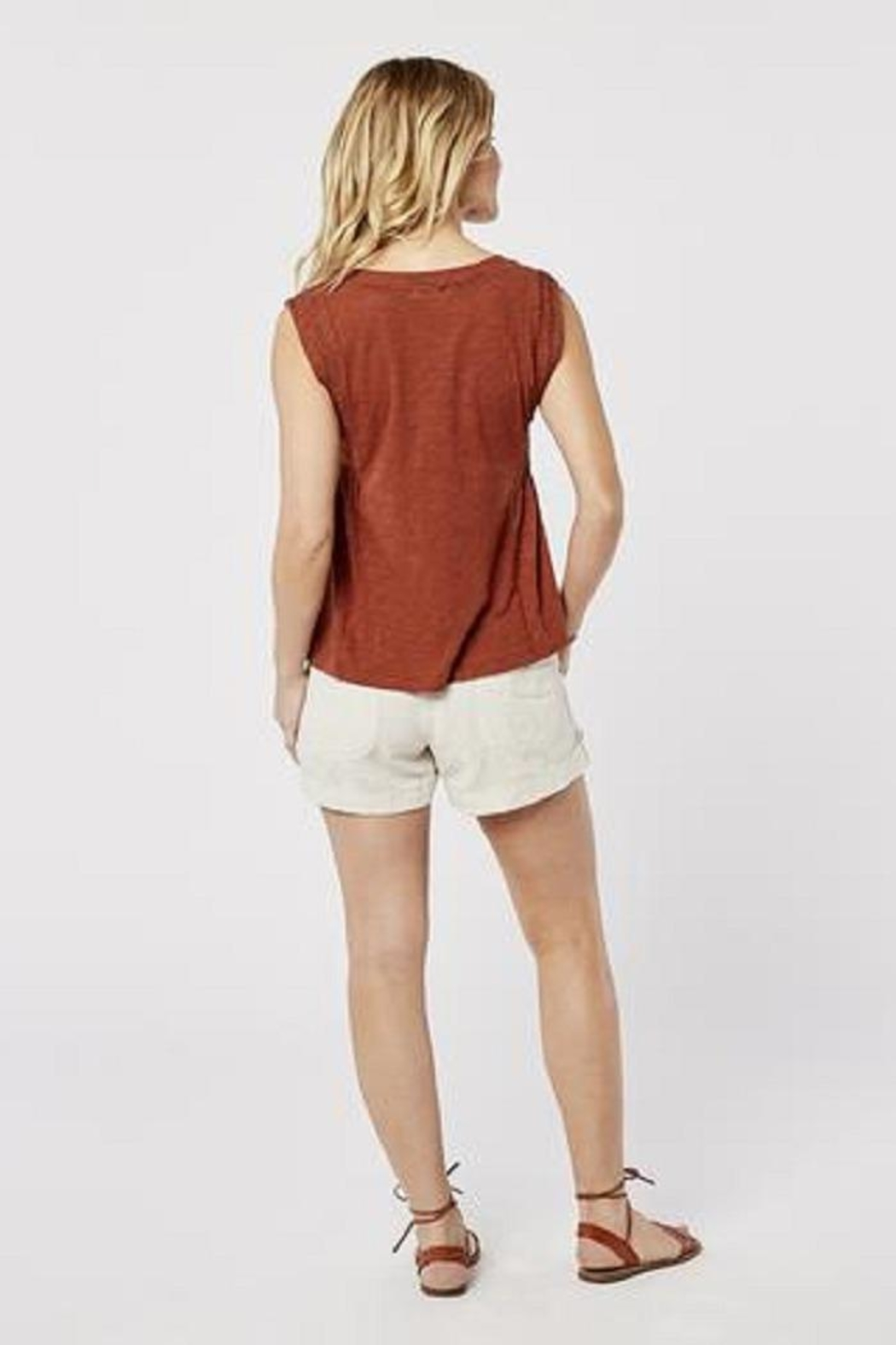 Carve Designs Nicole Cinnamon Top - Side Cropped Image
